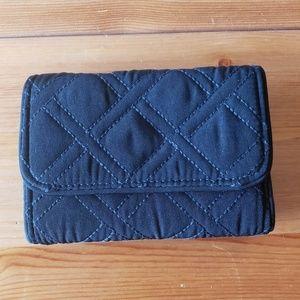 Vera Bradley Black RFID Wallet